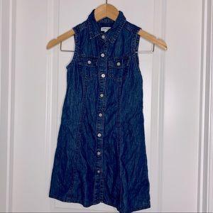 Girl's Wallflower Denim Dress